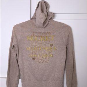 Victoria Secret zip-up jacket with hoody